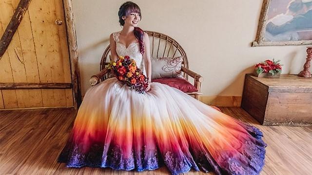 DIY Obojaj sama svoju vjenčanicu